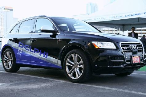 Delphi-Test zum autonomen Fahren