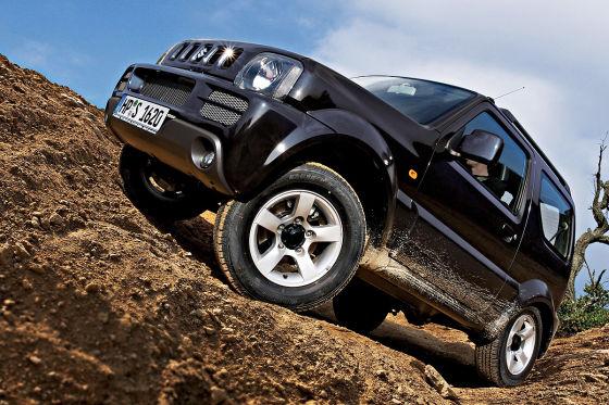 Gute SUVs für 5000 Euro: Suzuki Jimny