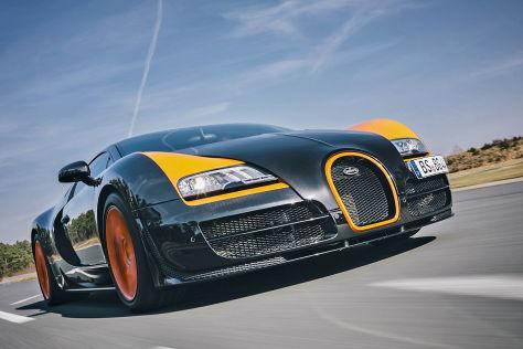 bugatti veyron 16.4 grand sport vitesse: fahrbericht - autobild.de