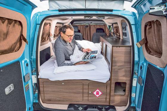 hillside leisure dalbury e elektro wohnmobil im test. Black Bedroom Furniture Sets. Home Design Ideas