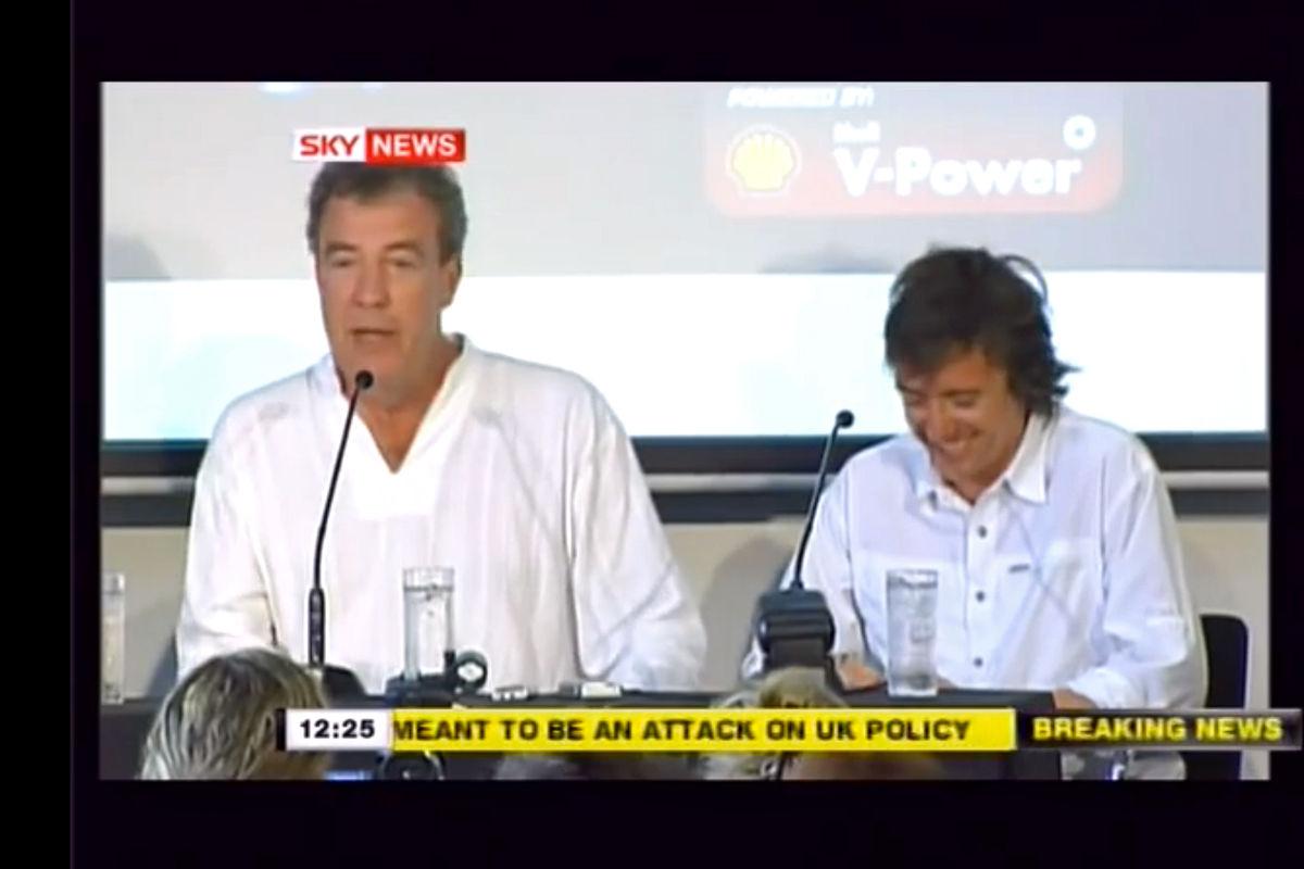 Die umstrittensten Äußerungen von Jeremy Clarkson