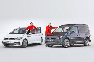 Erster Vergleich der VW-Vans