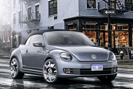 Vier Beetles für New York