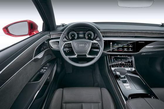 Blick in den neuen Audi A8