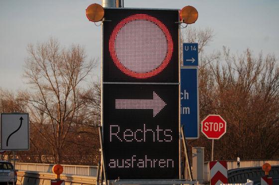 Baustelle Schiersteiner Brücke (Mainz)