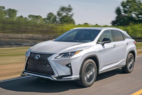 Lexus RX (2015) Fahrbericht: So fährt das Hybrid-SUV ...