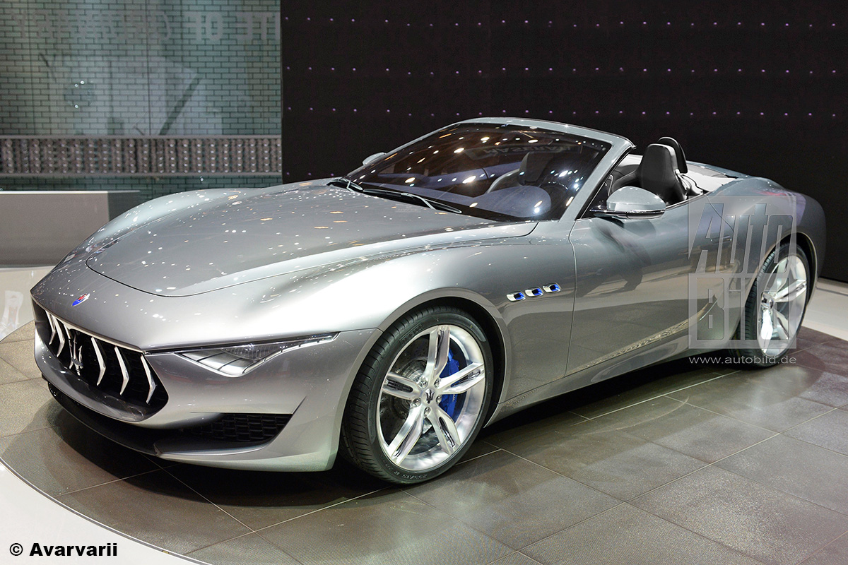 Maserati Alfieri Spyder Illustration
