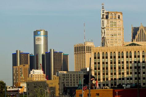 GM-Zentrale in Detroit