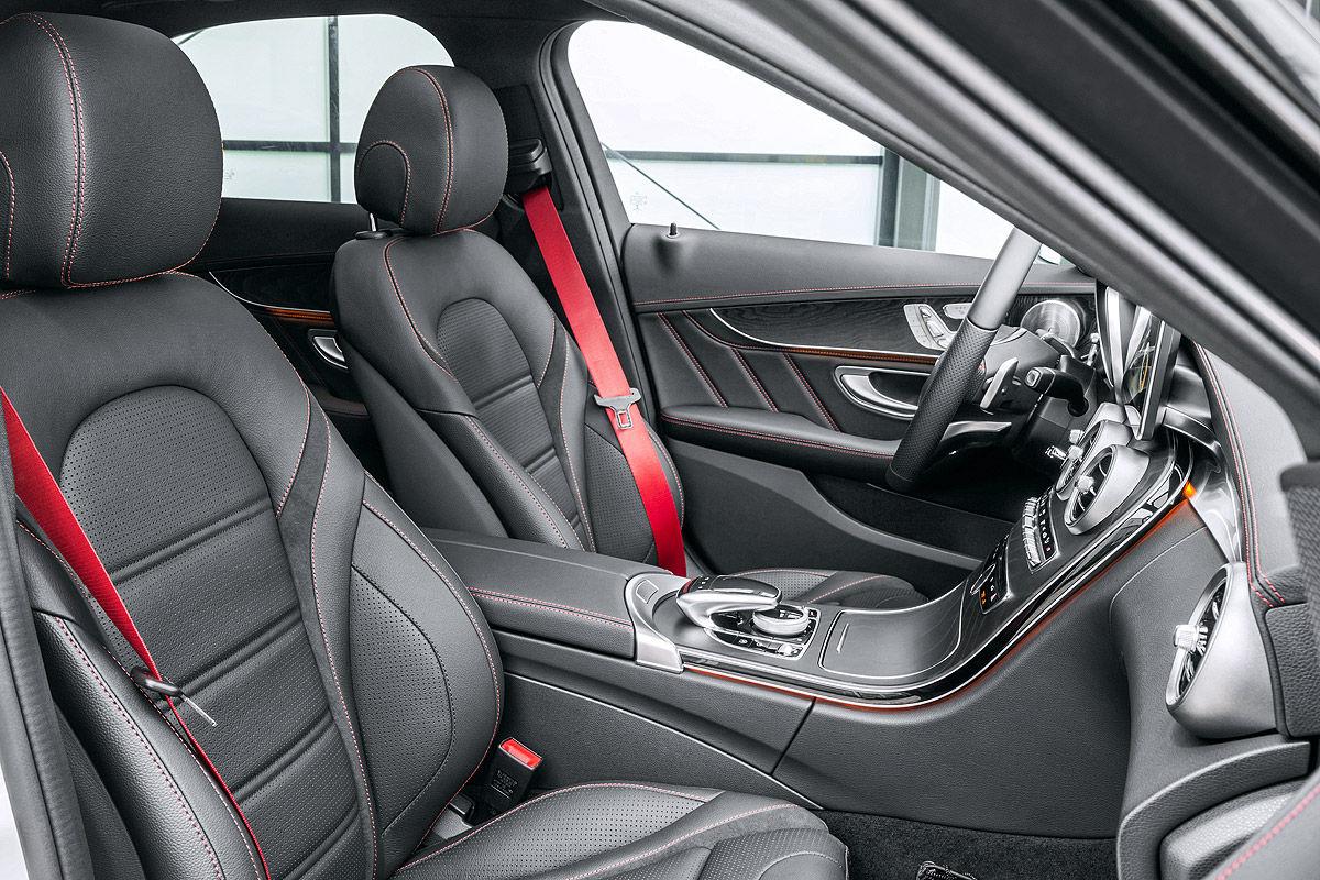 Multifunktionslenkrad Mercedes C Klasse
