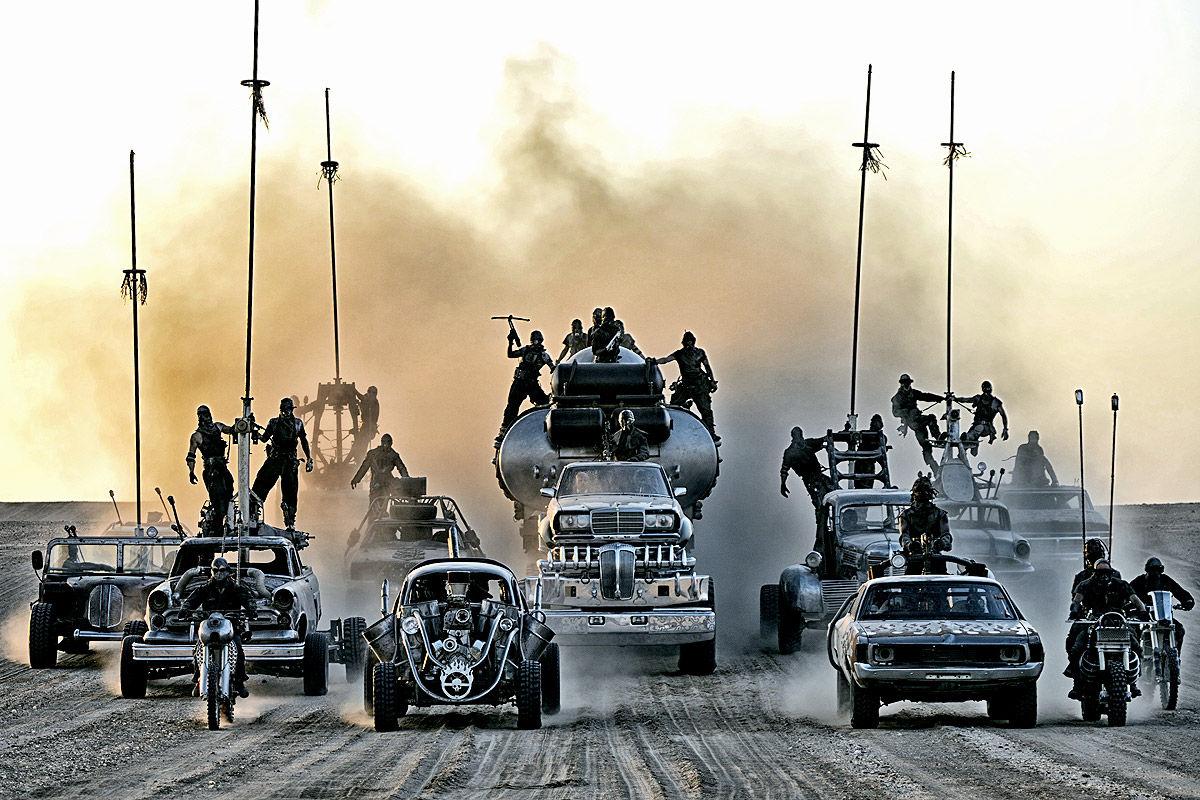 Mad Max: Fury Road , die Armada