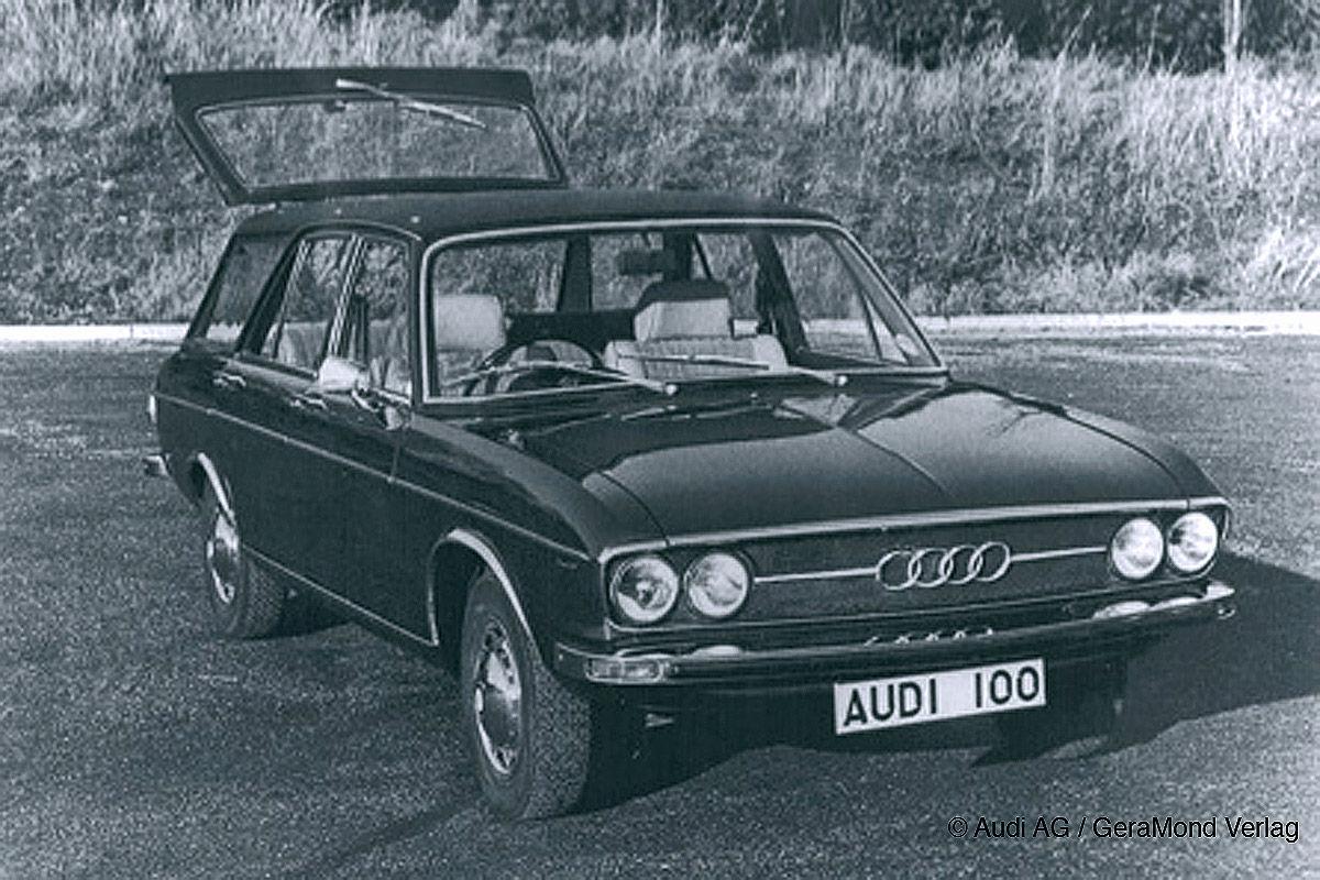 Audi 100 LS Kombi (1975)