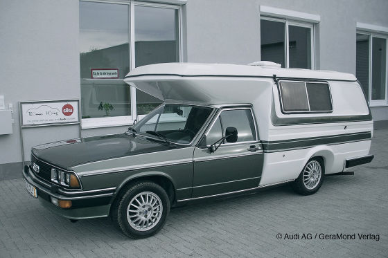 Audi 100 C2 Campmobill