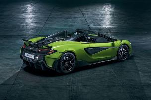 600LT Spider & Co: alle neuen Cabrios!
