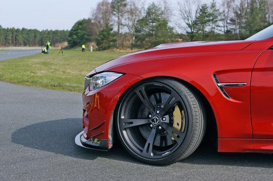 AC Schnitzer ACS4 Sport Felge und Frontsplitter (Basis BMW M4)