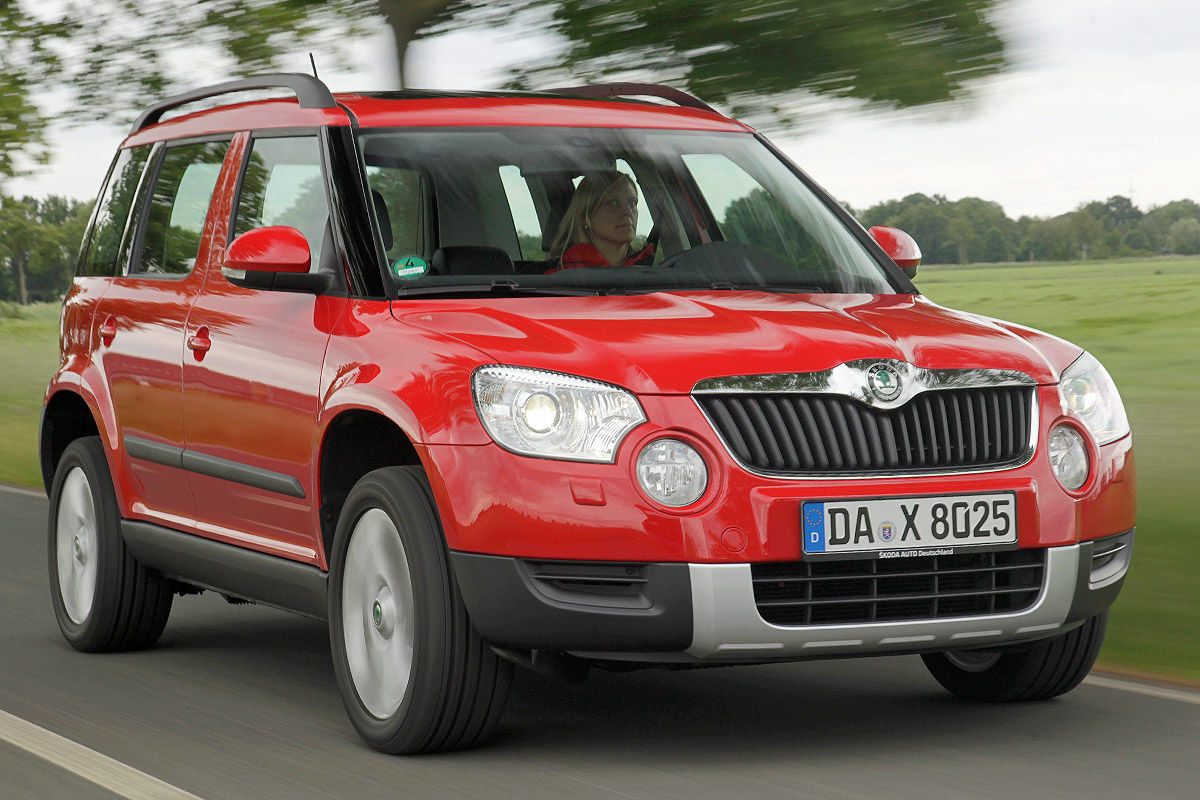 skoda yeti im gebrauchtwagen test bilder. Black Bedroom Furniture Sets. Home Design Ideas