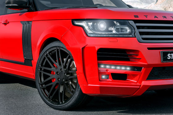 Startech Range Rover Pick-up-Umbau