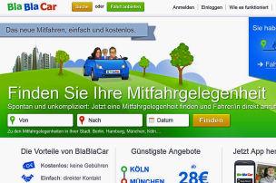 BlaBlaCar dominiert