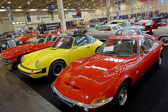 Opel GT, Porsche 911 und Corvett Stingray