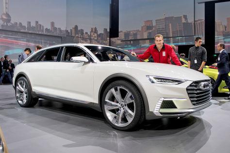 Audi Prologue Allroad So Kommt Der Neue A6 Autobild De