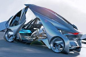Chevrolet-FNR: Autonome Studie auf der Shanghai Auto Show 2015