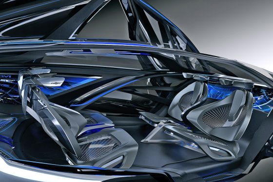 Chevrolet-FNR Innenraum Sitzkonzept