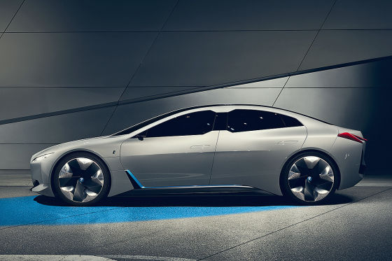 BMW i4 Illustration