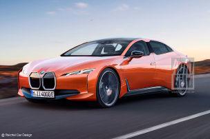 Der BMW i4 kommt