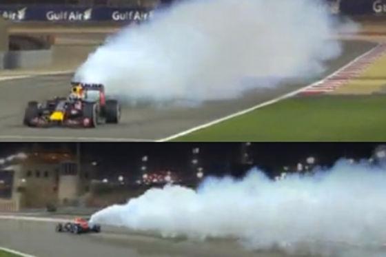 Red Bull Renault Motorschaden