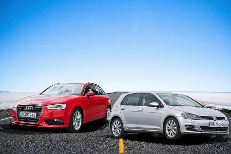 VW Golf / Audi A3 (2015): Rückruf