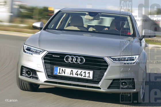 Audi A4 Illustration