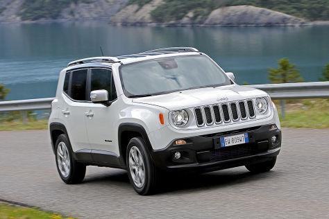jeep renegade mit  ps benziner preis autobildde