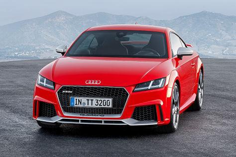 Audi Tt Rs Coupécabrio 2016 Vorstellung Motor Preis Autobildde