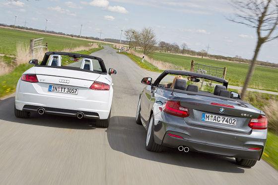 Audi TT Roadster BMW 2er Cabrio