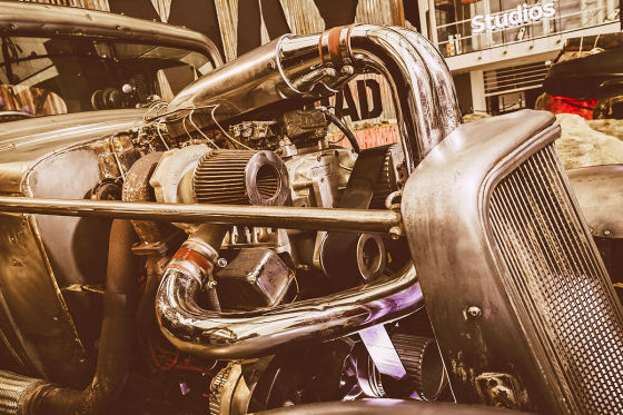 Mad Max Filmauto Nux
