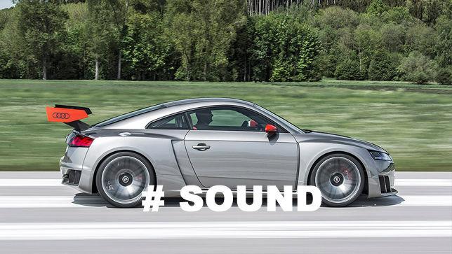 Video Audi Tt Clubsport Sound Autobildde