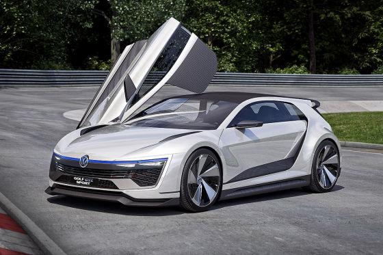 Carbon-Rennwagen auf Golf-Basis