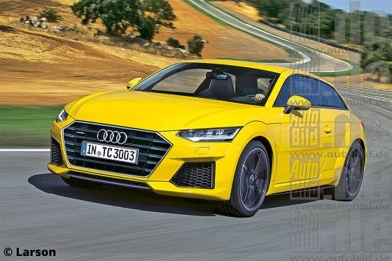 Audi TTC Illustration