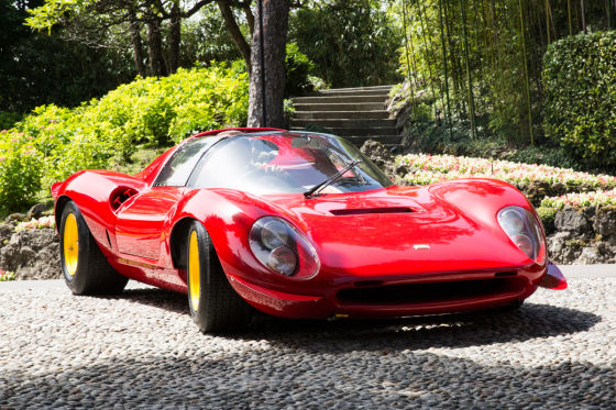 Concorso d'Eleganza 2015: Ferrari Dino 206 S