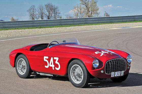Ferrari 212 Export Barchetta