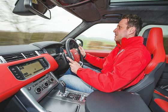 Range Rover Sport SVR Innenraum