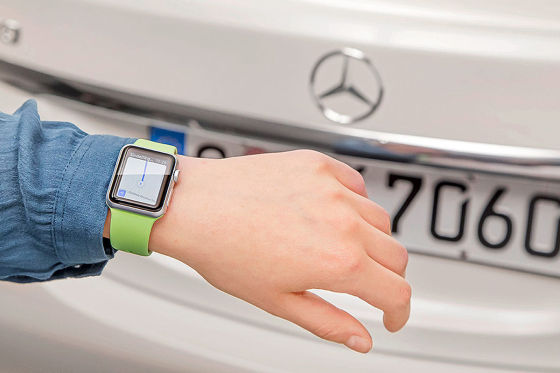 Mercedes total vernetzt