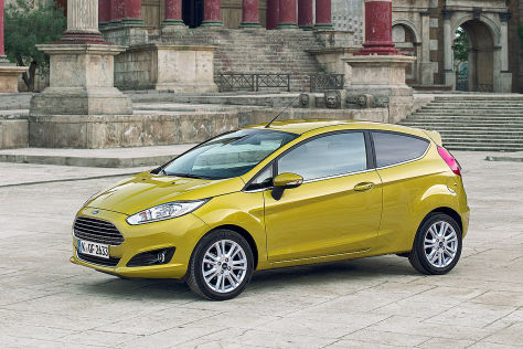 Ford Fiesta: Modellpflege