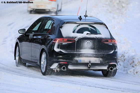 VW Golf VIII GTI Illustration