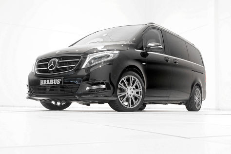 mercedes v klasse vito von brabus van voll veredelt. Black Bedroom Furniture Sets. Home Design Ideas