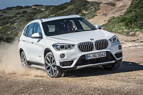 BMW X1 (IAA 2015) im Test: Fahrbericht - autobild.de