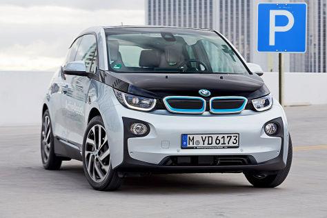 BMW-Navi hilft bei Parkplatzsuche