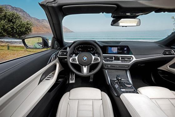 Neues BMW 4er Cabrio mit Stoffverdeck und XXL-Niere