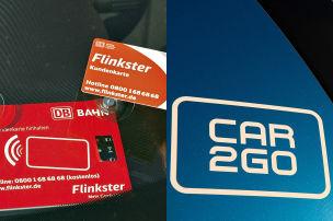 Flinkster und Car2go kooperieren