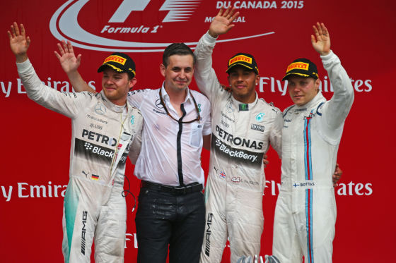 Top-3 Montreal 2015