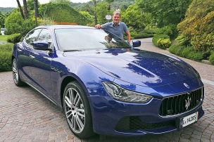Zegna-Stoffe im Maserati